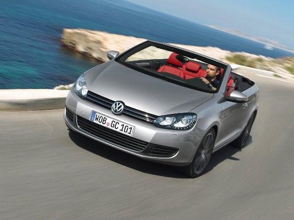Фотогалерея Volkswagen Golf Cabrio…