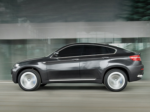 new BMW x6 sport coupe allroad