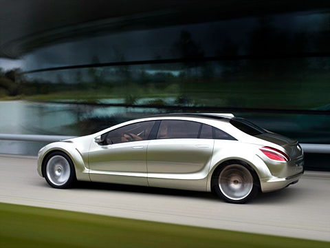 Mercedes=Benz concept F700 side