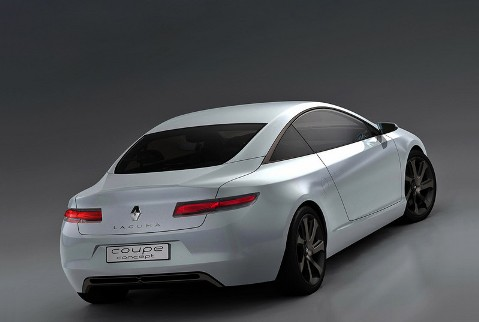Renault Laguna Coupe back view